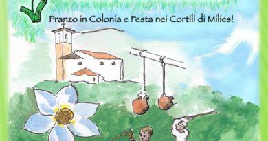 Milies di Segusino  -Domenica 26 maggio 2019-  Un borgo in festa per il narciso