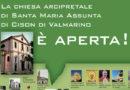 """Artigianato Vivo: grazie all'Istituto """"Beato Toniolo"""" la chiesa arcipretale di Cison apre le porte al pubblico"""