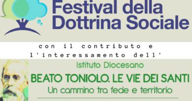 """Con l'Istituto Diocesano """"Beato Toniolo"""", Pieve di Soligo ospita il Festival della Dottrina Sociale"""