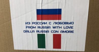Personale russo impegnato a Bergamo. I ringraziamenti di Sebastiano Favero
