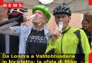 Da Londra a Valdobbiadene in bicicletta: la sfida di Mike per rendere omaggio all'Italia