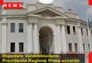 Ospedale Valdobbiadene. Presidente Regione firma accordo di programma con comune, Ulss 2 e Istituti San Gregorio