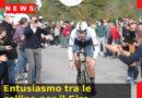 Entusiasmo tra le colline per il Giro d'Italia