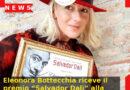 """Eleonora Bottecchia riceve il premio """"Salvador Dalì"""" alla mostra internazionale di Spoleto"""