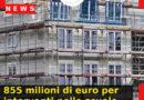 855 milioni di euro per interventi nelle scuole di secondo grado