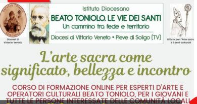 """Continua la formazione """"L'arte sacra come significato, bellezza e incontro"""" – Istituto """"Beato Toniolo"""""""