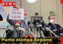 Punto stampa Regione Veneto di martedì 24 novembre