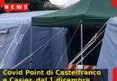 Covid Point di Castelfranco e Casier, dal 1 dicembre attivi fino alle 19