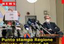 Punto stampa Regione Veneto di venerdì 20 novembre