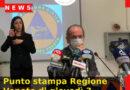Punto stampa Regione Veneto di giovedì 3 dicembre