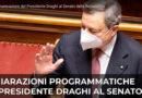 Le comunicazioni del Presidente Draghi al Senato