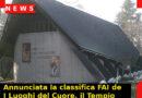 Annunciata la classifica FAI de I Luoghi del Cuore, il Tempio del Donatore di Pianezze il più votato in Veneto