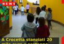 A Crocetta stanziati 20 mila euro a sostegno delle scuole dell'infanzia