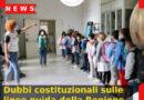 Dubbi costituzionali sulle linee guida della Regione Veneto per la scuola