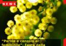 """""""Parole e canzoni al femminile"""": Festa della Donna 2021 – Villa Brandolini, Solighetto (Tv)"""
