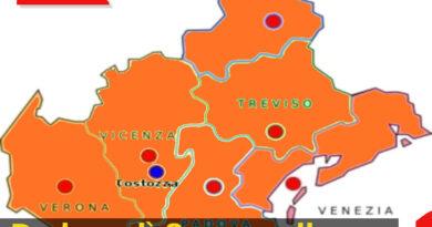 Da lunedì 8 marzo il Veneto diventa arancione
