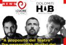 """""""A proposito del Teatro"""" Tre personalità illustri del settore in tre eventi online"""