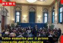 Tutto esaurito per il primo concerto dell'Orchestra Giovanile del Conservatorio B. Marcello (Ve)