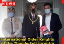 """""""International Order Knights of the Thunderbolt"""" incontra il sindaco di Sernaglia della Battaglia"""