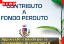 Approvato il bando per la concessione di contributi a fondo perduto dal comune di Segusino