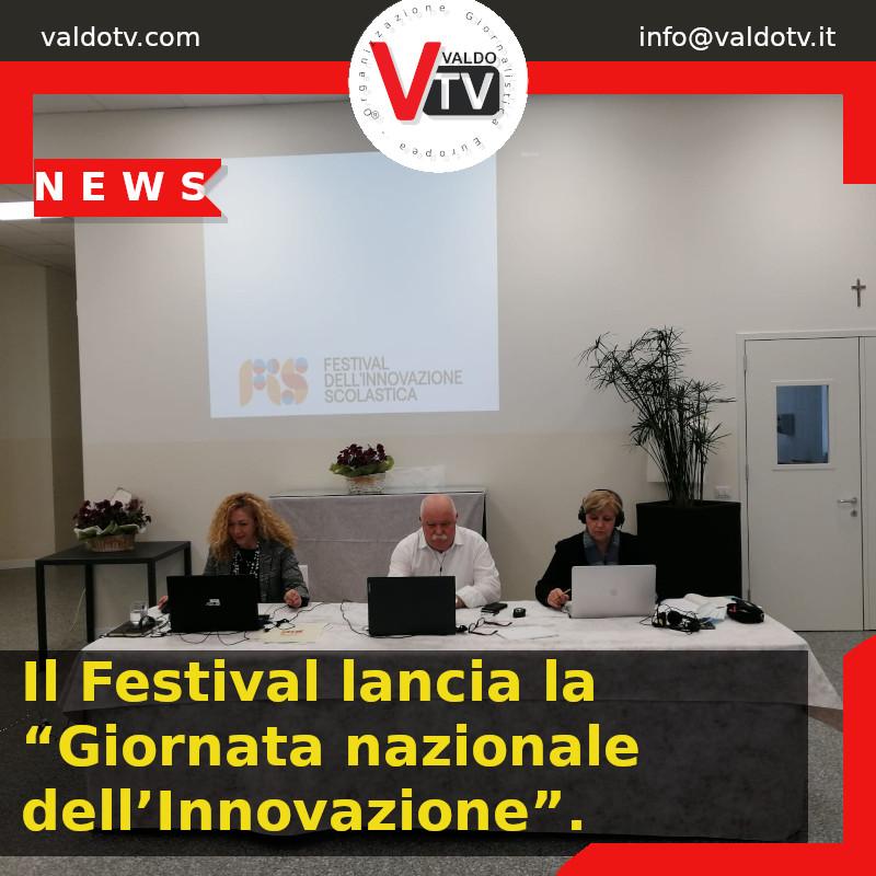 """Il Festival lancia la """"Giornata nazionale dell'Innovazione""""."""
