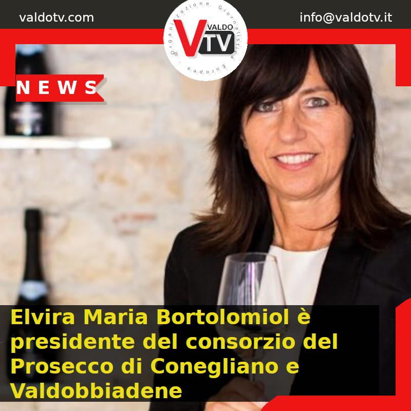 Elvira Maria Bortolomiol è presidente del consorzio del Prosecco di Conegliano e Valdobbiadene